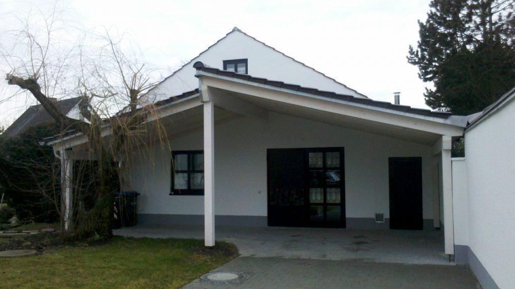 Carport in Leitershofen