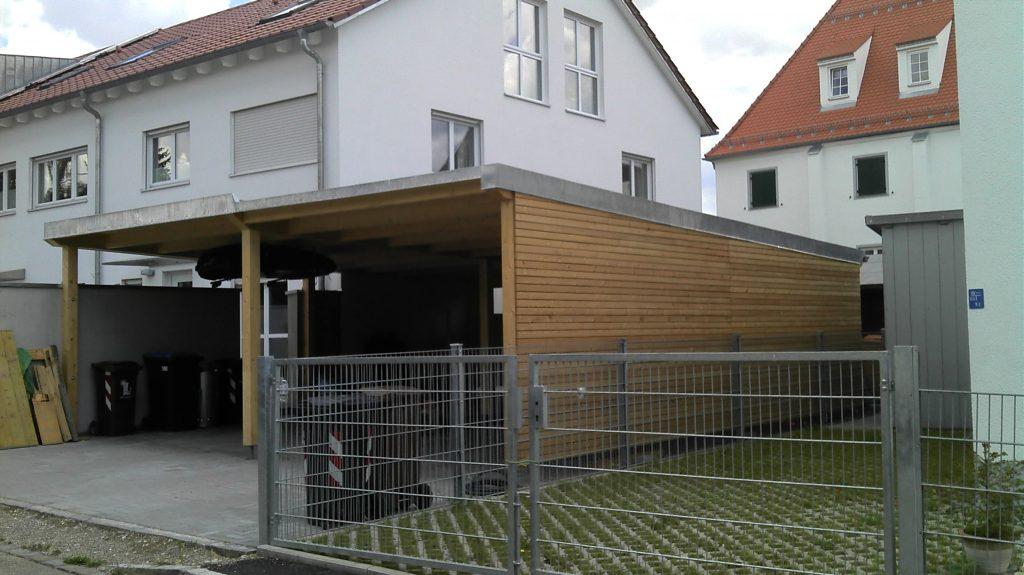 Doppelcarport in Stadtbergen